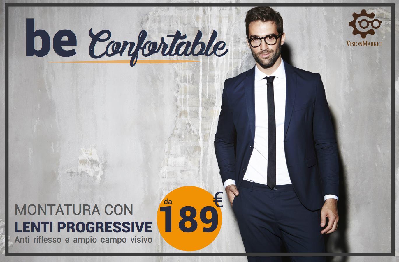 Occhiale completo di Lenti Progressive da € 189,00